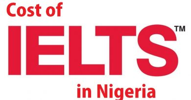 Cost of IELTS in Nigeria